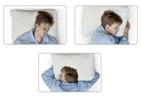 Универсальная. Удобно спать на спине, животе или на боку!